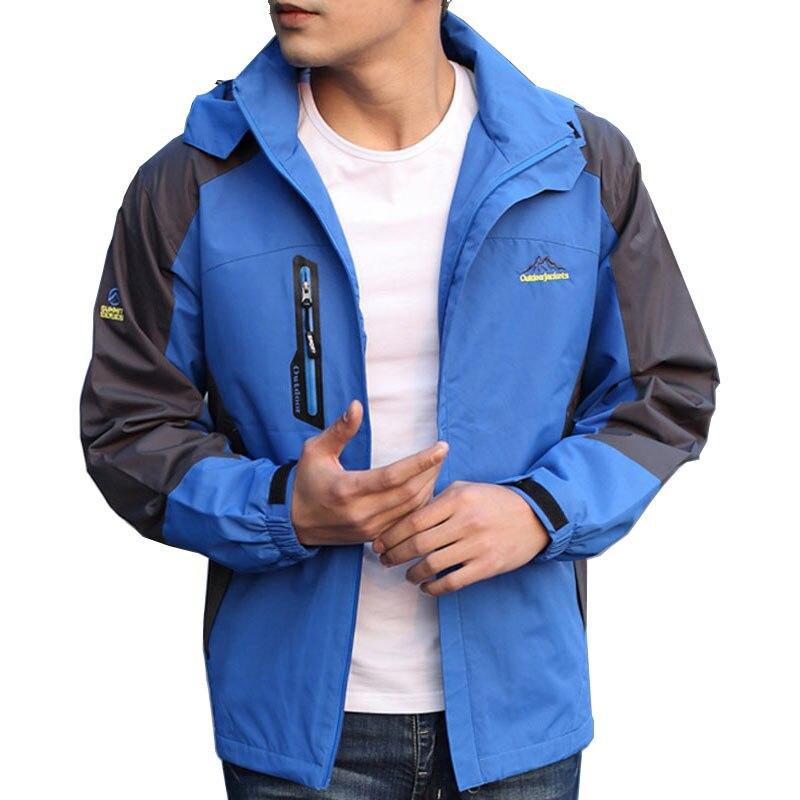 Printemps automne hommes randonnée veste en plein air Jaqueta Camping Sports manteau hommes tourisme montagne veste matelassée imperméable coupe-vent