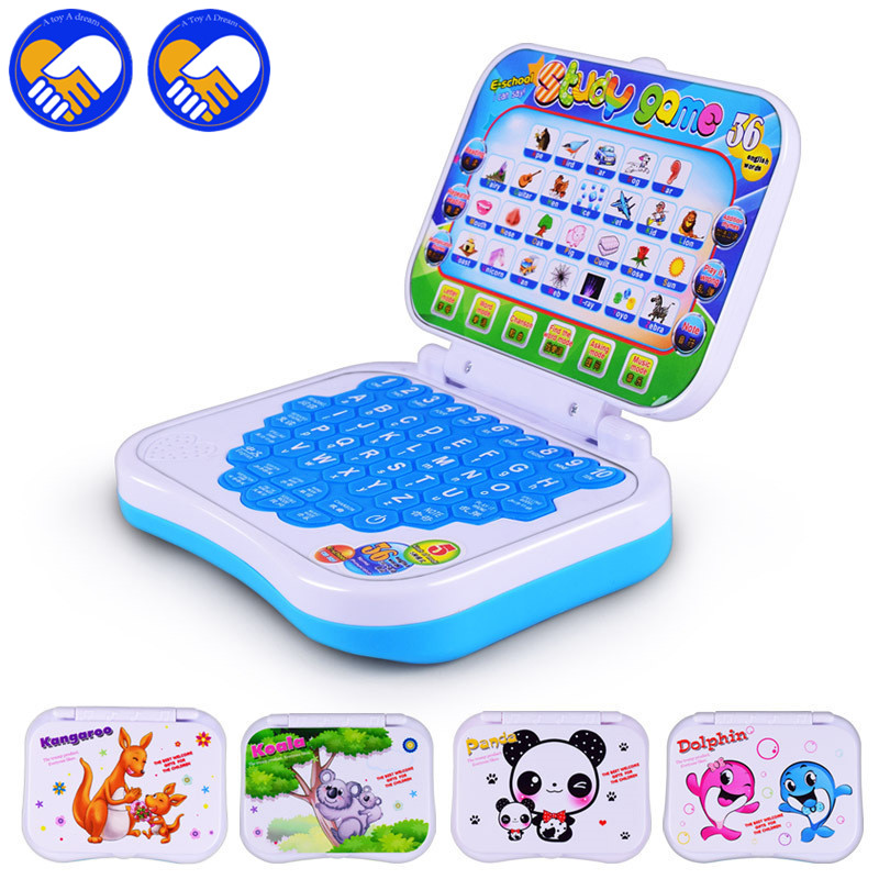New Pronunciation Learning Machine English/Chinese Alphabet Russian Language Computer Baby Tablet Learning Education Toys