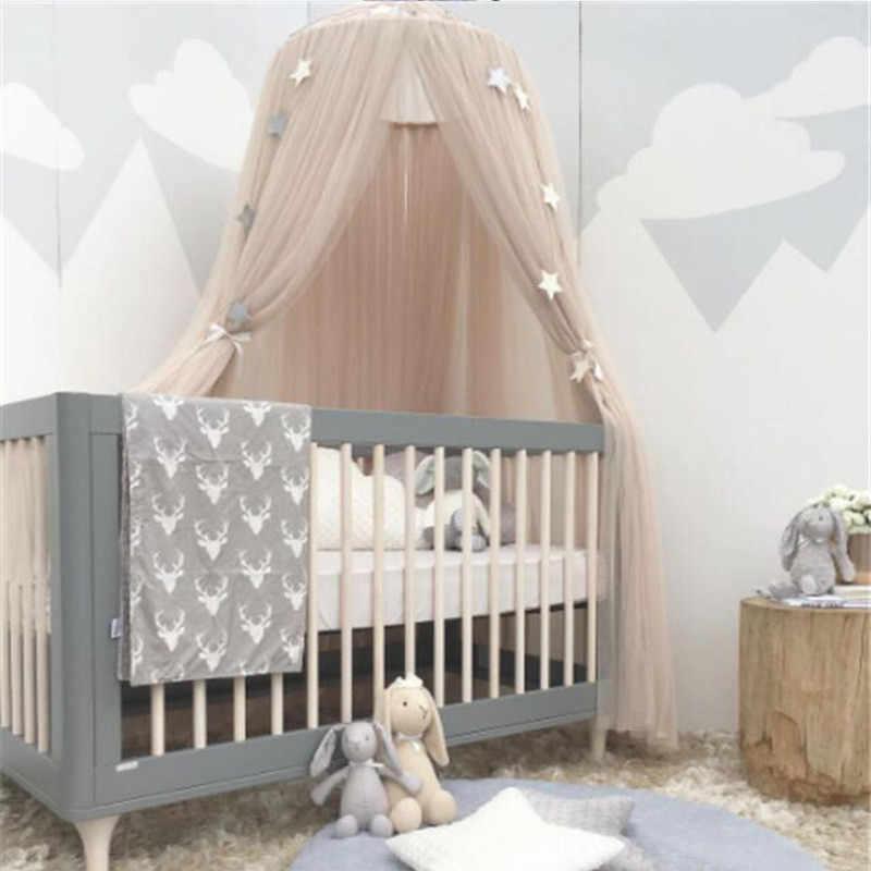 LILIGIRL, 7 цветов, для девочек и мальчиков, в скандинавском стиле, висячий купол, корона, игровая палатка, для детей, Teepees, игровой домик, занавеска, палатка, декор детской комнаты