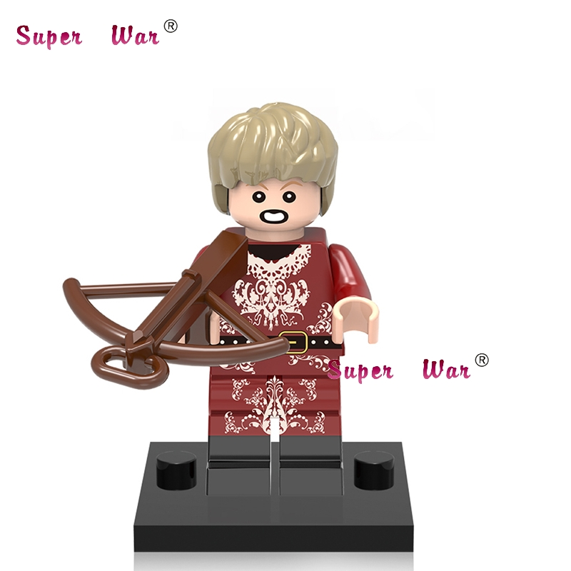 20pcs star wars superhero Game of Thrones TV Joffrey Baratheon building blocks figure bricks model educational baby toys