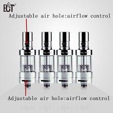 100% Оригинальные ect 2.5 мл контроля потока воздуха туман мини электронная сигарета бак распылитель