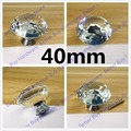 Dia. 30mm/40mm Furniture K9 Crystal Drawer Pulls and Knobs for Ccabinet Kitchen Hardware
