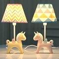 Светодиодная настольная лампа с регулируемой яркостью  прикроватная лампа для спальни  теплый светильник  креативная детская лампа для ком...