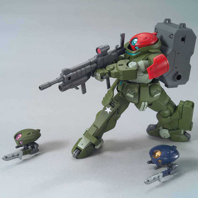 Japan Anime Bandai HG 1/144 Gundam Bouwen Duikers #03 Grimoire Rode Baret Mobiele Pak Robot juguetes Gunpla Action Figure kinderen Speelgoed