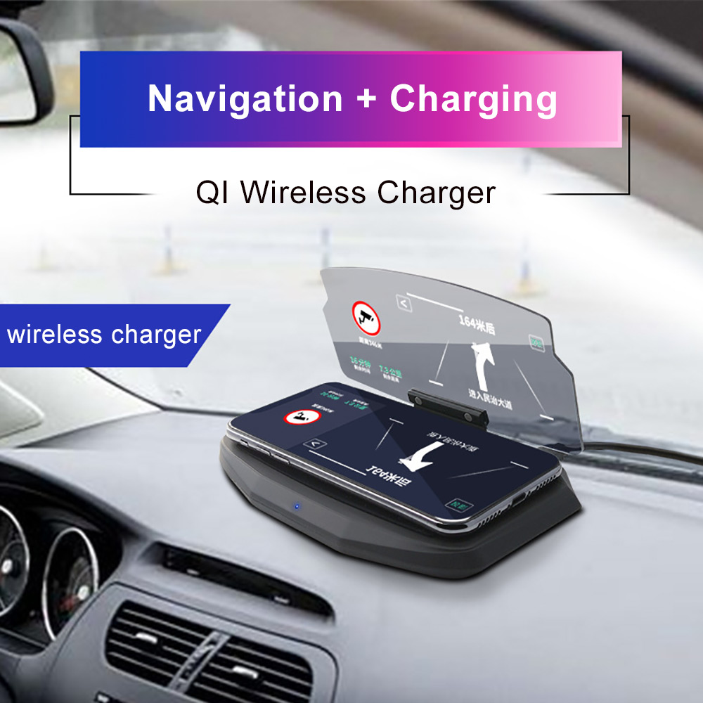 Car Charge Qi Wireless Charger For iPhone XS MAX XR X 7 Quick 3.0 Fast Charging For iPad Gravity Mount Stand For Samsung Note 9