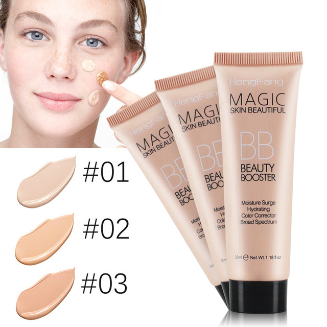 Maquillaje de la marca Perfecta crema BB Cuidado Facial Fundación Base Cubierta Perfect BB Cream CC Corrector de Blanqueamiento Facial