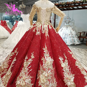 Image 5 - AIJINGYU חתונה שמלות לבנון שמלות סקסי פשוט סביר ליד לי זול בטורקיה חנות צבעים חתונה שמלה קצרה בתוספת גודל