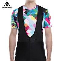Racmmer 2020 крутая велосипедная сетка для фитнеса, велосипедная Базовая велосипедная рубашка с коротким рукавом, спортивное дышащее нижнее бел...
