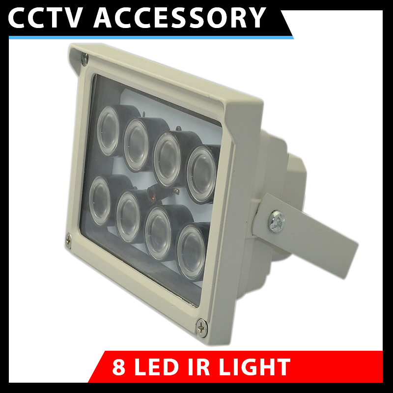 Infrared Lamp High Power Array LED IR Illuminator Night Vision For Surveillance CCTV Camera 850nm Waterproof Automatic switch ...