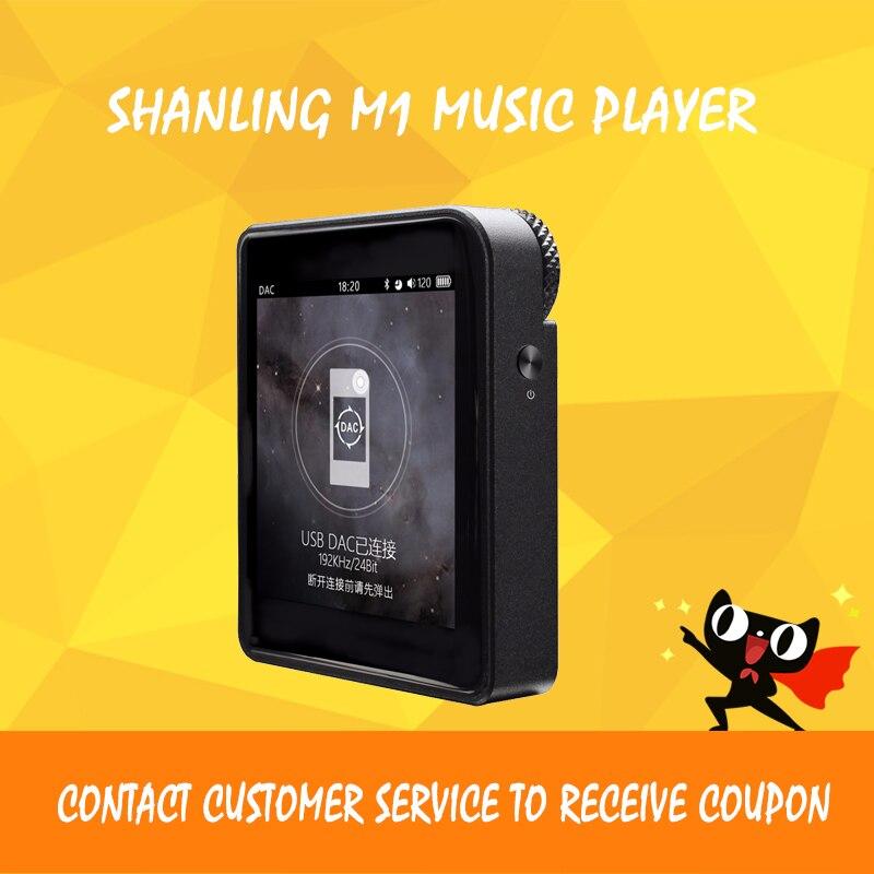 Shanling M1 mp3 lecteur bluetooth dsd hifi sans perte décodeur flac lecteur mini portable sport musique lecteur mp3 audio avec écran