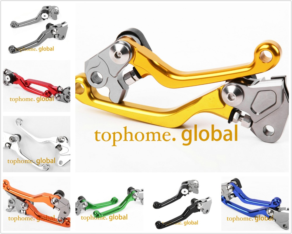 For Suzuki RMZ450 2005 - 2018 Pivot Brake Clutch Levers RMZ 450 CNC 2017 2016 2015 2014 2013 2012 2011 2010 2009 2008 2007 2006 motorcycle cnc aluminum brake clutch levers for suzuki sfv650 gladius 2009 2015 dl650 v strom 2011 2012 gsr600 2006 2011