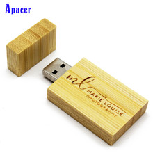 Apacer LOGO USB flash drive 4GB 8GB 16GB 32GB 64GB pen drives Maple wood