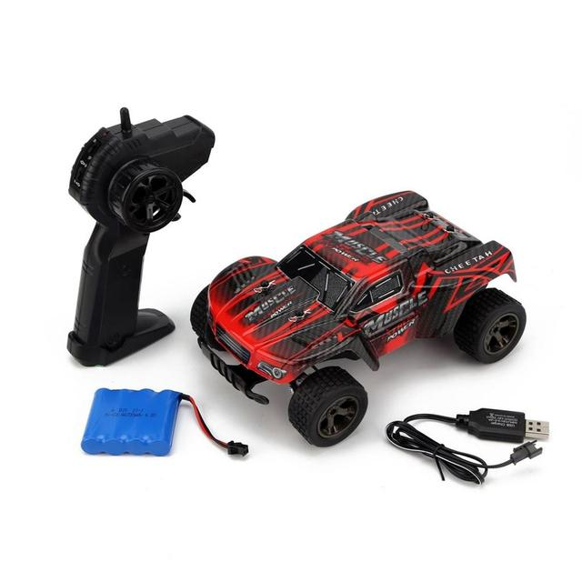 New 1:18 RC Car 2812 2.4G 20KM/H High Speed Racing Car Climbing Remote Control