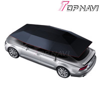 TOPNAVI 4500*2200MM Full Automatic Movement Car Tent Cover Wireless Remote Control Car Anti Sunshine Umbrella Portable