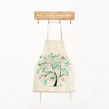 Tree  Apron Cooking Apron Funny Novelty BBQ Party Apron Naked Men Women  Kitchen Cooking Apron Delantal Cocina Retro
