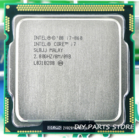 Intel Core I7 860 I7 860 I7 Processor 2.9GHz/ 8MB Socket LGA 1156 CPUSupported memory: DDR3 1066, DDR3 1333