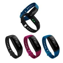 Горячие V07 смарт-браслет сердечного ритма браслет крови Давление часы фитнес-трекер Bluetooth SMS вызова напомнить для IOS Android
