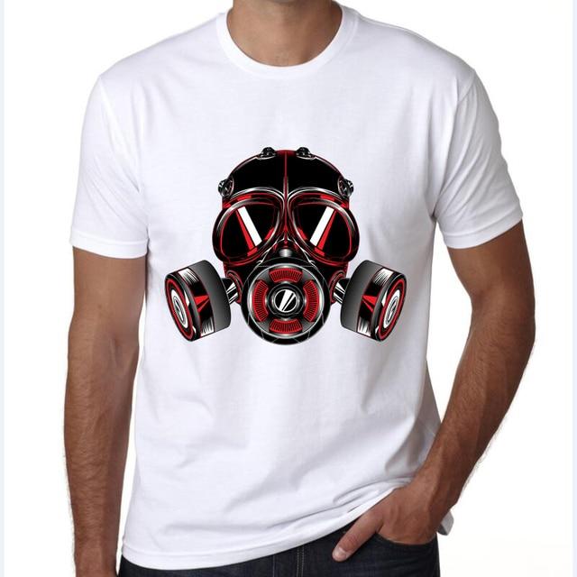 b446980f0 t shirt men 2017 gas mask Toxic Air Design Streetwear Men T shirt Short  Sleeve Punk Women With Gas Mask Printed tees Cool Tops