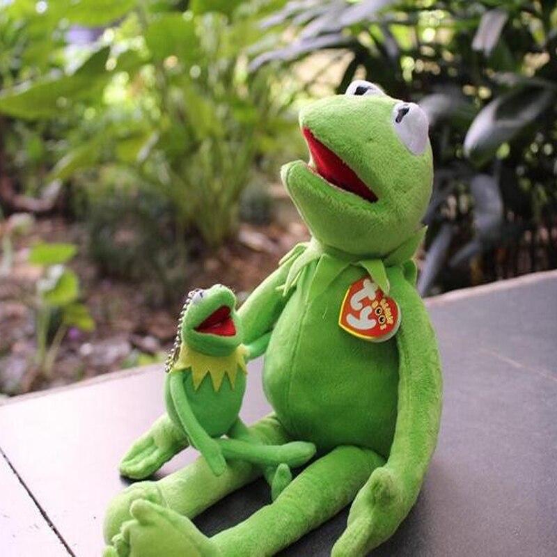 Sincero Venta Caliente 40 Cm Kermit Juguetes De Peluche Sésamo Calle Muñeca Peluche Animal Kermit Juguete Peluche Rana Muñeca Niños Regalo Producir Un Efecto Hacia Una VisióN Clara