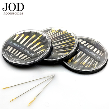30PCS Assorted Hand Sewing Needles Embroidery Mending Craft Quilt Case JOD - discount item  45% OFF Arts,Crafts & Sewing