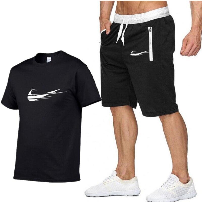 T-shirts Shorts In Vielen Stilen FleißIg Einaudi Neue Sommer T-shirt Männer Anzüge Lastest 2019 Mode Kurzarm T-shirt Set Lustige T-shirts Oansatz Coole Tops Herrenbekleidung & Zubehör