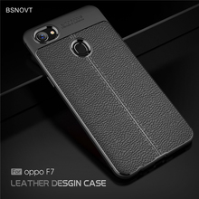 For Oppo F7 Case Soft Shockproof Luxury Leather TPU Anti-knock Phone Case For Oppo F7 Cover For OPPO F7 Funda 6.23 inch BSNOVT цена и фото