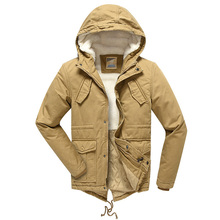 Boy Jacket Winter Children Outerwear Thickened Warm Windproof Hooded Down Coats Kids Clothes Big Boys Jackets For 7-15T DQ126