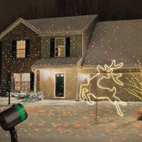 Outdoor Laser Projector Sky Star Spotlight Showers Landscape DJ Disco Lights R G Garden Lawn Christmas
