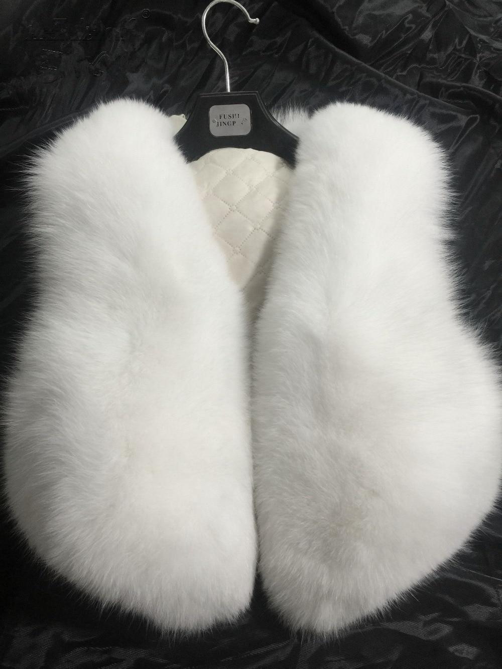 Natural Fox Fur Coat Women's Real Fur Jacket Genuine Arctic Fox Fur Vest Ladies Female Fur Coats Waistcoat