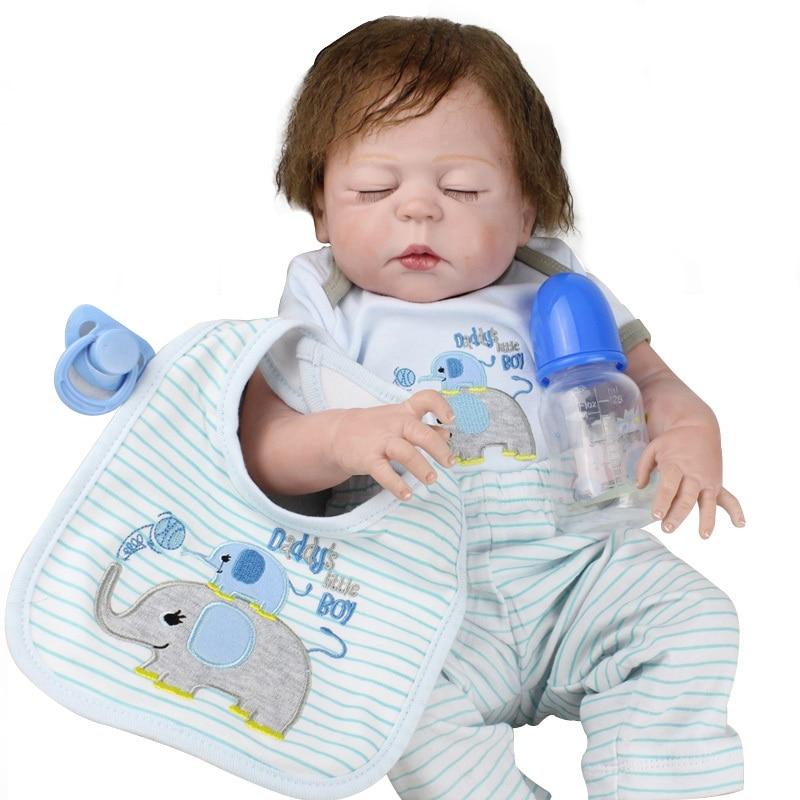 KAYDORA Doll Reborn Soft Vinyl Toy Silicone BeBe For Girls 22inch 55cm Handmade Reborn Babies Dolls Kids Playmate Dropshiping