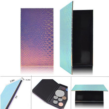 1PCS 18*10cm Hot Makeup Pallete Eye Shadow Empty Magnetic Palette Glitter Fish-scale Patterns Eyeshadow Case Cosmetic Containers