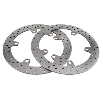 NICECNC 2PCS Front Brake Disc Rotor For Husqvarna Nuda R ABS 900 2012 2013 BMW F800GT R1100S R1150RS K1200GT K1200R K1300GT