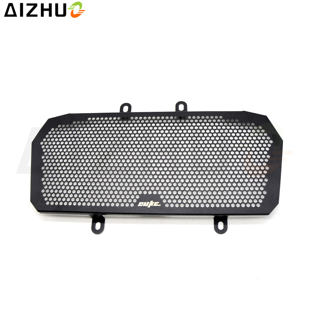 With DUKE logo Radiator Grille Guard Cover motorcycle accessories Motor Radiator Guard For KTM DUKE 390 390Duke Duke390 2013-16 for duke390 motorcycle accessories cnc radiator grill black guard cover protector radiator protection for ktm duke 390 motorbike
