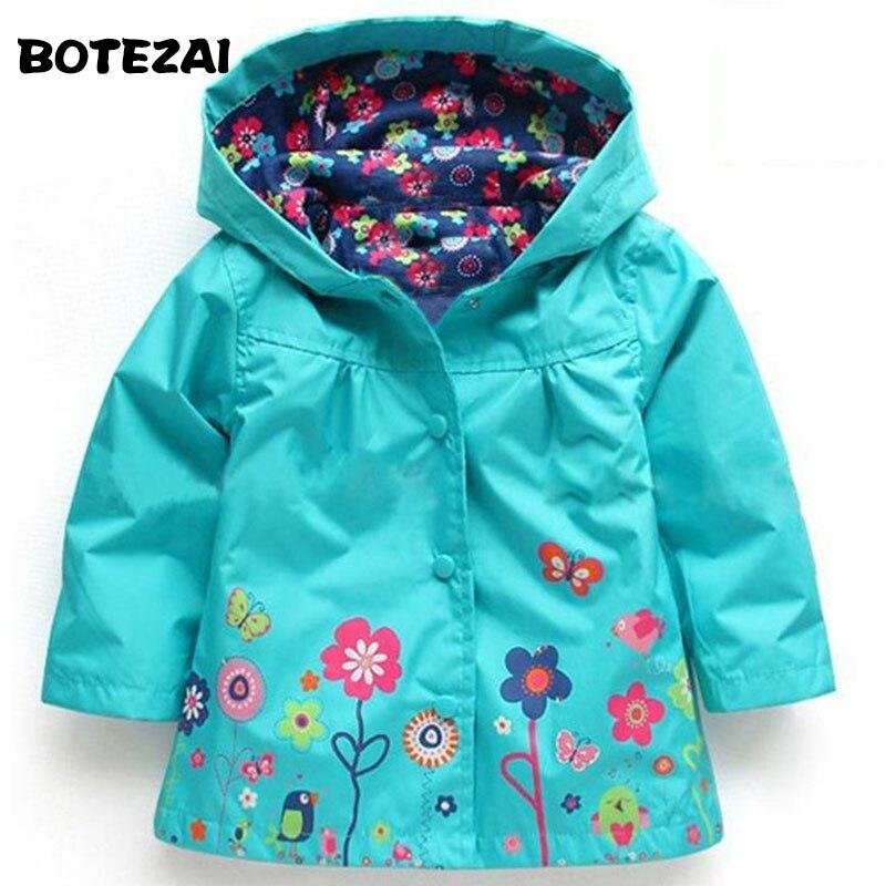 Куртка с капюшоном для мальчиков куртка для девочек пальто для девочек зимние пальто и верхняя одежда для детей весенне-осенний модный детс...