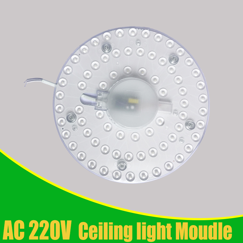 Ceiling Lamps LED Module Round AC220-240V 12W 18W 24W 36W LED Light Replace Ceiling Lamp Lighting Source Convenient Installation
