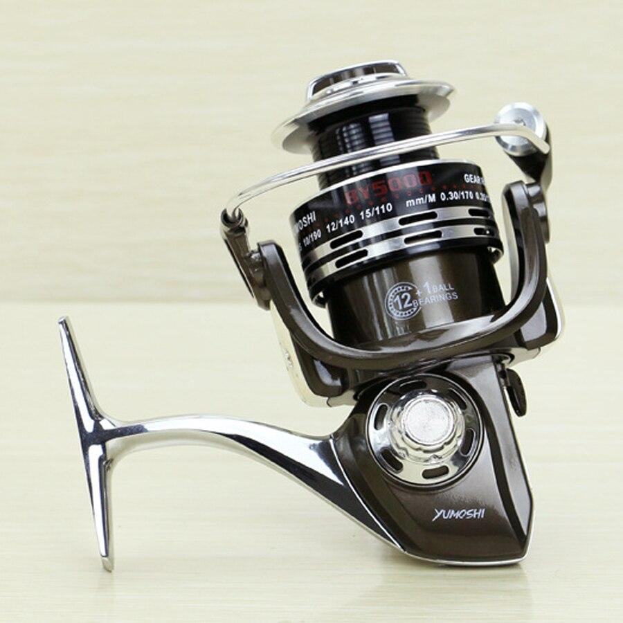 Új BY 3000 - 7000 Spinning orsó 5.5: 1 Zökkenőmentes 13BB teljes - Halászat - Fénykép 5