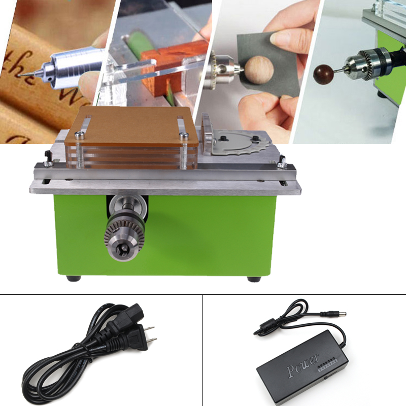 Mini DIY Home Table Saw High Precision DC12-24V 8000RPM Model Saws Woodworking Power Tools Saw Cutting Polishing Carving Machine precision woodworking saws mini table saws metal cutting machines model saws dc 12 24v 5000 rpm a00 b20