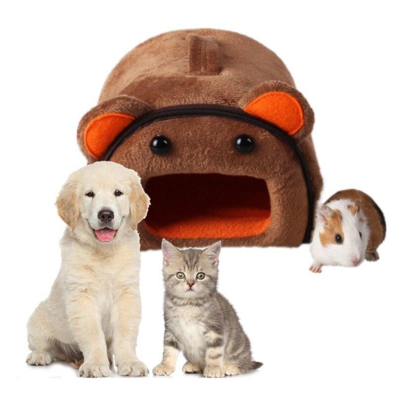 Hamster Huis Kennel Nest Met Mat Opvouwbare Huisdier Bed Huis Voor Kleine Kleine Huisdieren Nieuwe Multi Kleuren Hoge Veerkracht