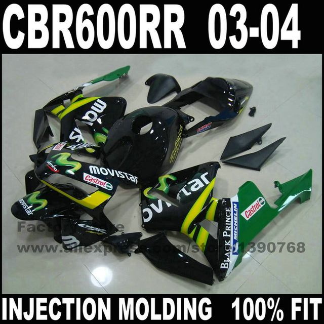 High Quality Motorcycle Parts For Honda 2003 Rr F5 Fairings Set Cbr 600 Rr