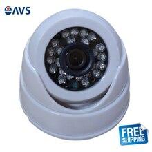 Security Economy Mini Indoor CMOS 800TVL CCTV Camera with Plastic Casing