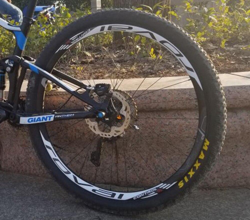 CONTROLO ROVAL SL conjunto Roda aro Adesivos para Mountain bike bicicleta CONTROLE ROVAL SL 26 27.5 29 polegada MTB bicicleta decalques de corrida ciclo