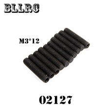 10PCS RC car HSP 02127 Allen Screw 3*14mm 10P For 1/10 RC Model Car Monster Bigfoot Truck 94188 94108 94111