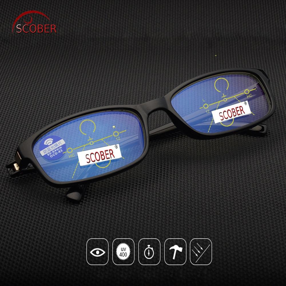 89d8d2abede Best buy   SCOBER   Progressive Multifocal Reading Glasses Designer Hand  Made Frame Black Eyeglasses See Near And Far TOP 0 ADD +1 To +4 online cheap