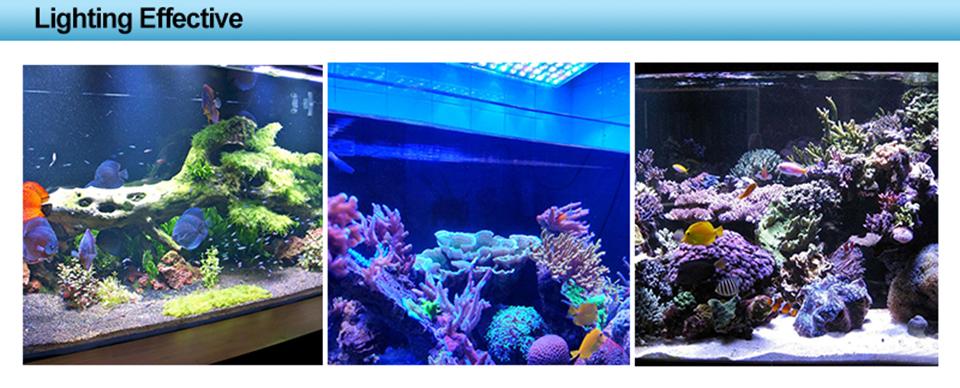 аквариум 180 вт dimmable вело света аквариума для морской аквариум бесплатная доставка профессиональный полный спектр украшения горячая распродажа