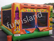 Commerical grade mini inflatable moonwalk with roof,bouncer castle on sale