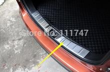 Стайлинга автомобилей! нержавеющая сталь Заднего Бампера Протектор Гвардии Подоконник Порог Плиты 2 шт. для Mitsubishi Outlander EX 2013 2014