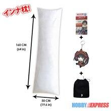 Hobby Express 160x50 cm (63x19.6 cala) japońskie Anime Dakimakura przytulanie wewnętrzna poduszka na ciało