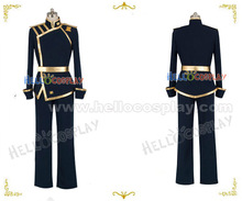 07 Ghost Empire's Military Mikage Cosplay Costume H008(China)