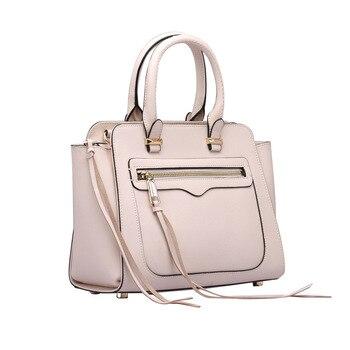 RM8916 European and American New Fashion oblique straddle Bag Female Cowhide Crossbody Bag Women Shoulder Bag Ladies handbag