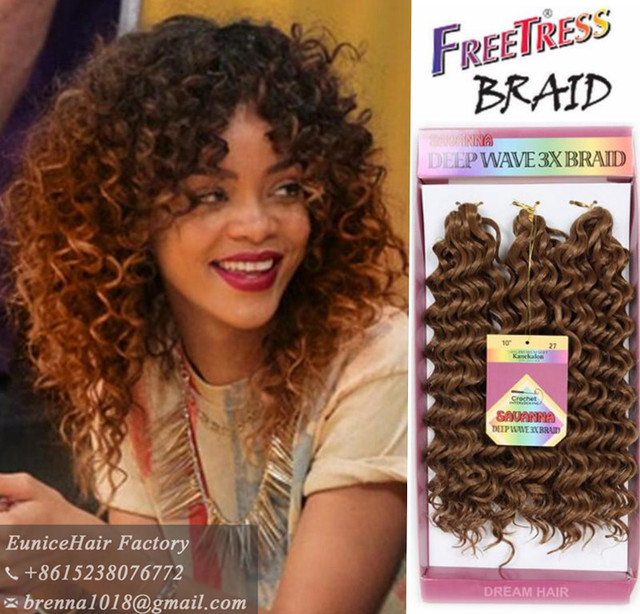 Ombre braids 10inch Marley Crochet Braids Hair Curly ...